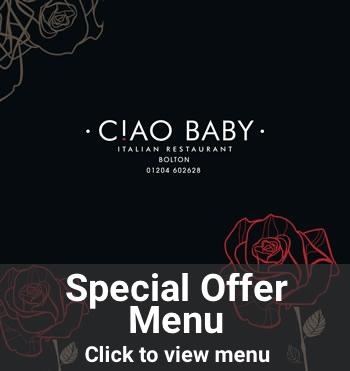 Click to view special offer menu (PDF)